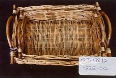 Set of 2 trays st098 2 parnell trading the caneware for Storage parnell