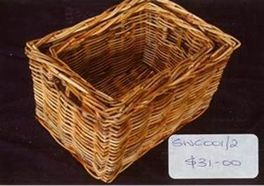 Storage baskets swc001 2 parnell trading for Storage parnell